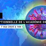 Séance exceptionnelle COVID19 - Académie des sciences