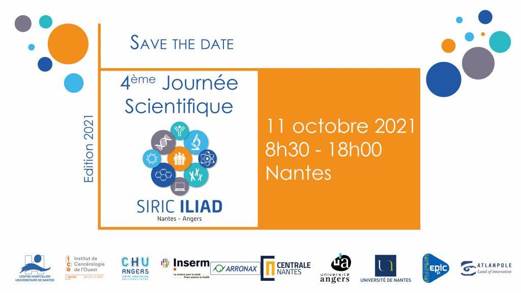 Save the date : 4ème journée scientifique SIRIC ILIAD