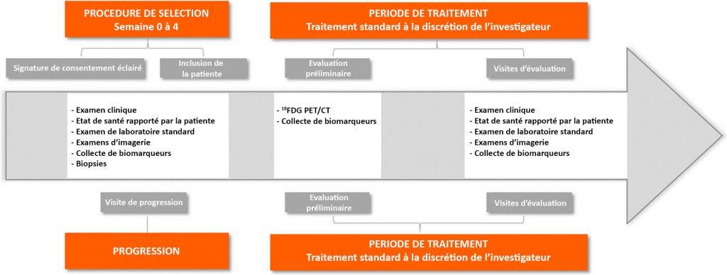 Conception de l'étude EPICURE sur le cancer métastatique